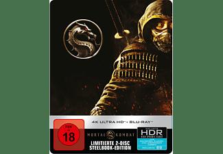 Mortal Kombat (Steelbook) 4K Ultra HD Blu-ray + Blu-ray