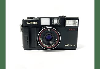 YASHICA MF 2 Super Set, Analog Kamera, Schwarz