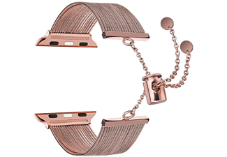 TOPP Armband für Apple Watch 38/40mm Metal Waterfall, Roségold