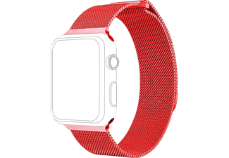 TOPP Armband für Apple Watch 42/44mm Mesh, Red