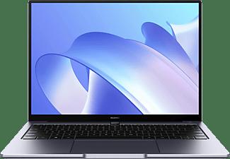 HUAWEI MATEBOOK 14, Notebook mit 14 Zoll Display, Windows 10 Home, Intel® Core™ i7 Prozessor, 16 GB RAM, 512 GB SSD, Intel® Iris® Xe Graphics, Space Gray