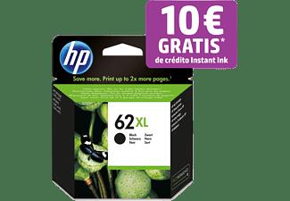 Cartucho de tinta - HP 62 XL, Negro, C2P05AE