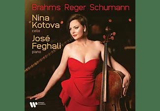 Kotova, Nina/Feghali, Jose - BRAHMS REGER SCHUMANN  - (CD)