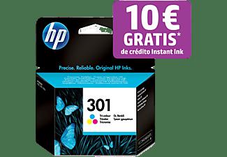 Cartucho de tinta - HP 301,  Tricolor, CH562EE