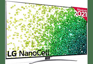 "TV LED 75"" - LG 75NANO966PA, 8K NanoCell, SmartTV webOS 6.0, α9 Gen4 con AI, HDR Dolby Vision y Atmos, Plata"
