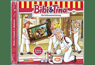 Bibi+tina - Folge 103:Die Schlossrenovierung [CD]
