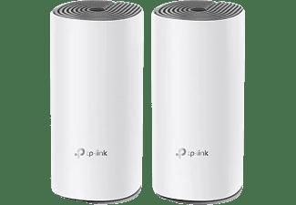Router inalámbrico - TP-Link Sistema Wi-Fi Mesh Deco E4 AC1200 (2 nodos), Blanco