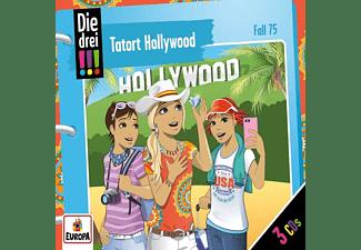 Die Drei ??? - Folge 75: Tatort Hollywood [CD]
