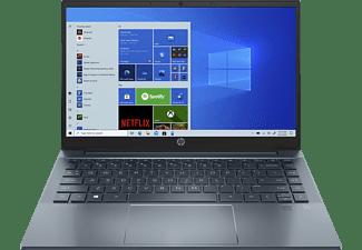 HP Pavilion 14-ec0355ng, Notebook mit 14 Zoll Display, AMD Ryzen™ 5 Prozessor, 8 GB RAM, 512 GB SSD, AMD Radeon Grafik, Fog Blue