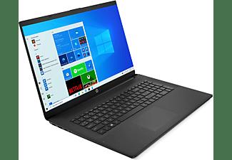 HP 17-cn0334ng, Notebook mit 17,3 Zoll Display, Intel® Core™ i3 Prozessor, 8 GB RAM, 512 GB SSD, Intel® UHD Grafik, Schwarz