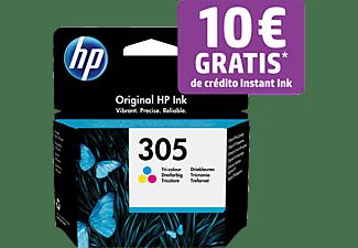 Cartucho de tinta - HP 305, Amarillo, Cian, Magenta, 3YM60AE