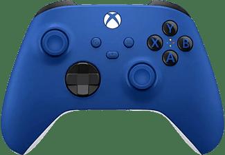 Mando inalámbrico - Microsoft Xbox One Controller Wireless QAU-00002, Para Xbox One Series X/S, Branded, Azul