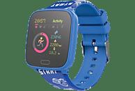 Smartwatch - Forever iGo JW-100, Para niños, 7 días, IP68, Bluetooth, ABS y plástico, Azul