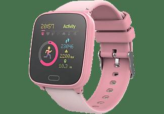 Smartwatch - Forever iGo JW-100, Para niños, 7 días, IP68, Bluetooth, ABS y plástico, Rosa