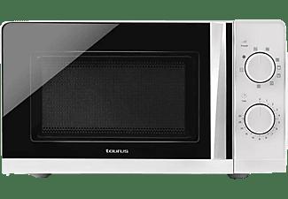 Microondas - Taurus Ready Grill, 700 W, 20 L, 9 velocidades, Blanco