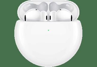 HUAWEI 55034494 FREEBUDS 4 True Wireless, In-ear Kopfhörer Bluetooth Ceramic White
