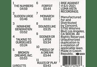 Rise Against - Nowhere Generation (Mintpack)  - (CD)