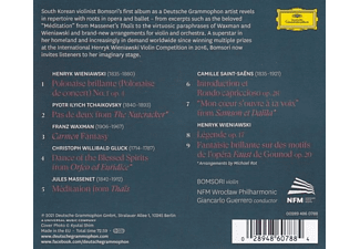 Bomsori, NFM Wroclaw Philharmonic, Giancarlo Guerr - Violin on Stage  - (CD)