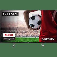 "TV LED 65"" - Sony KE65XH8096BAEP, UHD 4K, HDR, X1, SmartTV (AndroidTV), Asistente de Google, Triluminos, Negro"