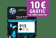 Cartucho de tinta - HP 912, Negro, 3YL80AE