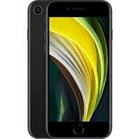 "Apple iPhone SE (2ª gen.), Negro, 128 GB, 4.7"" Retina HD, Chip A13 Bionic, iOS"