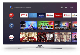 """TV LED 50"""" - Philips 50PUS8506/12, UHD 4K, P5, Ambilight, Dolby Vision, Atmos, Android TV, Control voz, Plata"""