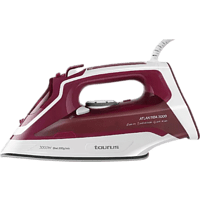 Plancha de vapor - Taurus Atlantida Titanium 3000, 40 g/min, Golpe vapor 200 g/min, Suela cerámica