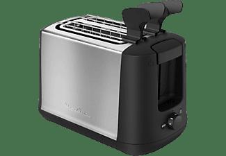 Tostadora - Moulinex SUBITO LT3408, 850W, 2 ranuras, 7 niveles de tostado, descongelar