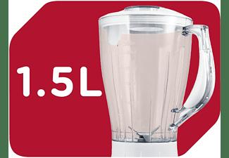 OK. OMX 2210 W Standmixer Weiß (600 Watt, 1.5 Liter)
