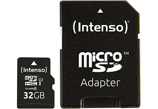 INTENSO 3423480 MicroSDHC Klasse 10 UHS-1, 32 GB