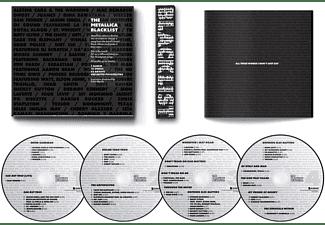 VARIOUS - The Metallica Blacklist (4CD)  - (CD)