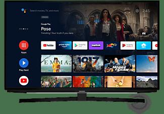 "TV LED 50"" - Grundig 50 GFU 7990B, UHD 4K, DVB-T2, Android TV, HDR, Quad Core, Control de voz, Negro"