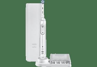 Cepillo Eléctrico - Oral-B Genius X 20000N, 6 Modos de cepillado, Bluetooth, Blanco