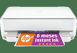 Impresora multifunción - HP Envy 6022e, Color, Wi-Fi ™, 7 ppm, 6 meses de impresión Instant Ink con HP+