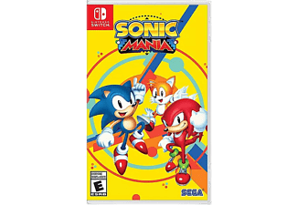 Nintendo Switch Sonic Mania Code in Box