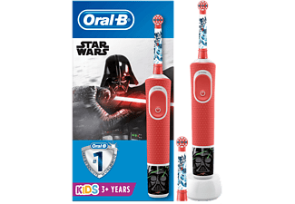 Cepillo eléctrico - Oral-B Vitality 100 Kids Plus Star Wars, Para niños, Disney Magic Timer