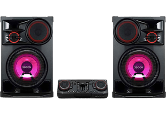 Sistema de altavoces - LG CL98, 3500 W, luces LED, Función Karaoke, Party Wireless, Bluetooth, Negro