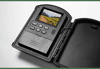 TECHNAXX Wildkamera TX-164 mit Zeitrafferfunktion, 2MP, FHD, 25fps, IP66, Display, LED, Schwarz