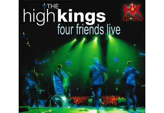 The High Kings - Four Friends Live  - (CD + DVD Video)