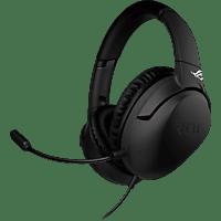ASUS Gaming Headset ROG Strix Go, Over-Ear, USB-C, Sorround, AI Noise Cancelling Mikrofon, Schwarz