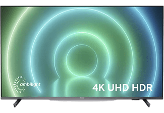 """TV LED 50"""" - Philips 50PUS7906/12, UHD 4K, 4 núcleos, Dolby Atmos, Dolby Vision, Ambilight, HDR, Gris"""