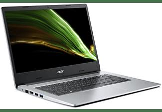 ACER Notebook Aspire 1 A114-33-C6ZV, Celeron N5100, 4GB RAM, 64GB eMMC, 14 Zoll FHD, Silber