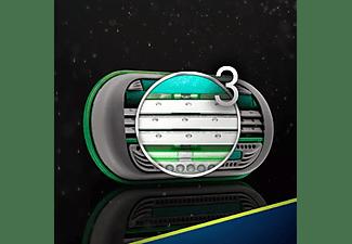 Recambio para afeitadora - Gillette Body, Para afeitadora Body y Mach3, 2 Unidades, 3 Hojas PowerGlide
