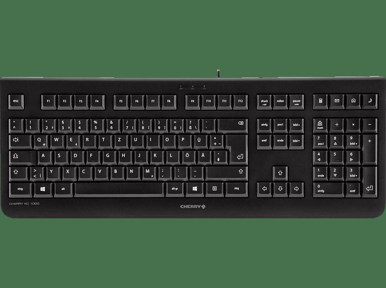 CHERRY KC 1000, Tastatur, Standard