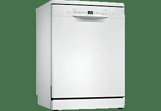 Lavavajillas - Bosch SMS2HMW00E, Independiente, 13 servicios , 6 programas, Home Connect, 60 cm, Blanco