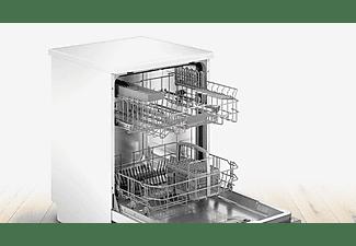 Lavavajillas - Bosch SMS2HKW00E , Independiente, 13 servicios , 6 programas, Home Connect, 60 cm, Blanco