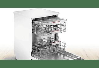 Lavavajillas - Bosch SMS4EMW00E, Independiente, 13 servicios , 6 programas, Home Connect, 60 cm, Blanco
