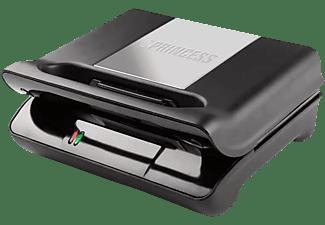 Sandwichera - Princess 117001 Grill Compact Flex, 700W, Doble función grill y sandwichera
