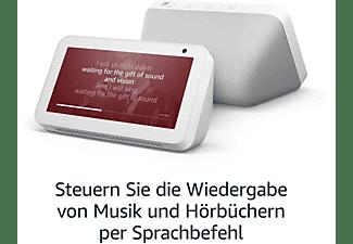 AMAZON Echo Show 5 Smart Speaker, Weiß/Sandstein