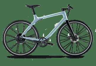 GOGORO EEYO 1 BLUE180 Citybike (Laufradgröße: 28 Zoll, Unisex-Rad, 123 Wh, Blau)